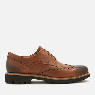 Clarks Men's Batcombe Wing Leather Brogues