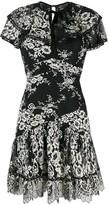 Three floor Sheer Elegance dress