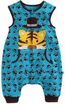 BOOPH Baby Boys Cotton Wearable Blanket Anti Kick Quilt Sleepwear Blue Sleep Bag