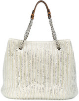 Ermanno Scervino sequinned tote bag