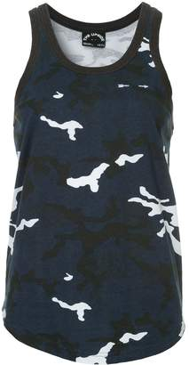 The Upside camouflage tank top