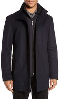BOSS GREEN Men's 'Coxtan' Wool Blend Coat