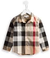Burberry House Check shirt - kids - Cotton - 9 mth