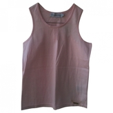 Christian Dior As new monogrammed tank top in pale pink