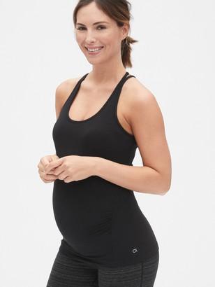 Gap Maternity GapFit Breathe Strappy Shelf Tank