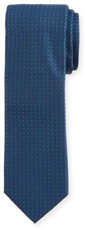 BOSS Tonal Square Silk Tie
