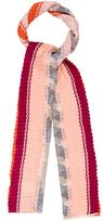Missoni Multicolor Chevron Scarf w/ Tags