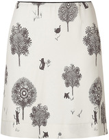SEE BY CHLOE Ecru Printed Skirt