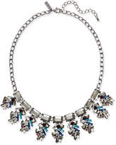 INC International Concepts I.N.C. Hematite-Tone Multi-Stone Statement Necklace, Created for Macy's