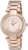 Jivago Women's JV1616 Celebrate Analog Display Swiss Quartz Rose Gold Watch