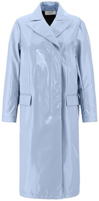 Sportmax Patent Leather Trench Coat