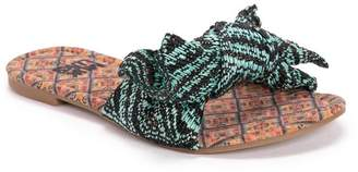 Muk Luks Trysta Knotted Bow Sandal
