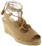 Refresh IE83 Women's Lace Up Strappy Espadrille Platfor Wedge Sandals, Color:, Size:7