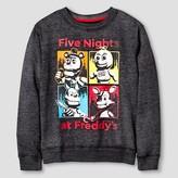 Five Nights at Freddy Boys' Five Nights at Freddy's Sweatshirt - Black