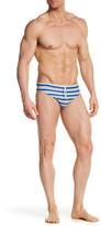 Parke & Ronen Striped Meridian Bikini