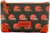 Dooney & Bourke NFL Browns Cosmetic Case