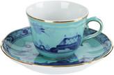Richard Ginori 1735 - Oriente Italiano Iris Coffee Cup & Saucer