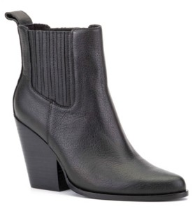Rebel Wilson Chunky Heel Ankle Boots Women's Shoes