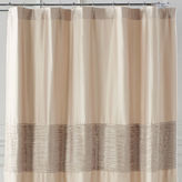 Pier 1 Imports Genevieve Oatmeal Shower Curtain
