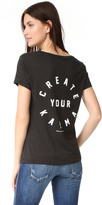 Spiritual Gangster Create Your Karma Scoop Tee