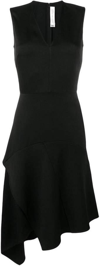Victoria Beckham draped V-neck midi dress