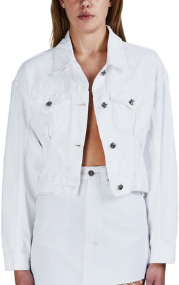 Ksubi Justify Jacket Fly White