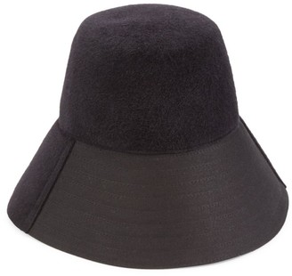 Valentino Rabbit Fur Felt Bucket Hat
