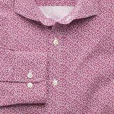 Charles Tyrwhitt Extra slim fit pink all over spot print shirt