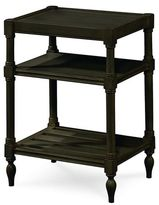 Universal Furniture Summer Hill Chair Side Table in Midnight Finish