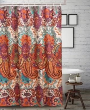 Greenland Home Fashions Nirvana Spice Bath Shower Curtain Bedding
