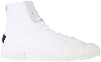 Givenchy Long Cotton Canvas Sneakers