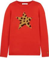 Bella Freud Iggy Leopard Wool-blend Sweater