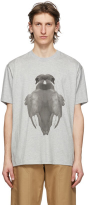 Burberry Grey Double Swan T-Shirt