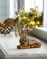 Mackenzie Childs MacKenzie-Childs Resting Tawny Stag Figurine