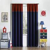 Eclipse Curtains Eclipse Kids 15456052084NVY Luna 52-Inch by 84-Inch Room Darkening Single Window Curtain Panel, Navy