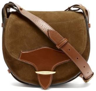 Isabel Marant Botsy Suede Shoulder Bag - Tan