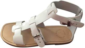 Marc by Marc Jacobs White Patent leather Sandals