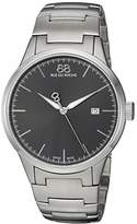 88 Rue du Rhone Men's 'Rive' Swiss Quartz Stainless Steel Dress Watch