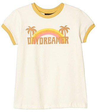 Tiny Whales Daydreamer T-Shirt (Toddler/Little Kids/Big Kids) (Natural) Girl's Clothing