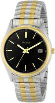 Pulsar Men's PXH428 Expansion Two-Tone Stainless Steel Watch