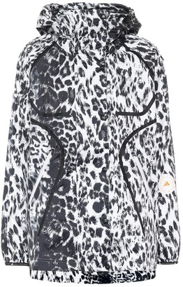 adidas by Stella McCartney Truepace leopard-print running jacket
