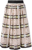 I'M Isola Marras printed midi skirt