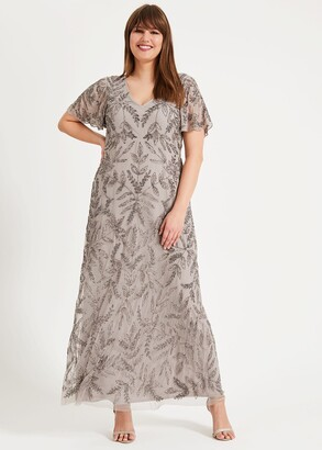 Phase Eight Guinevere Beaded Maxi Dress