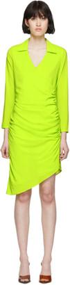 Miaou Green Vanessa Wrap Dress
