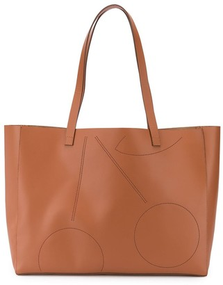 Bonpoint Perforated Cherry Tote Bag