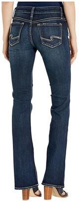 Silver Jeans Co. Suki Mid-Rise Curvy Fit Bootcut Leg Jeans in Indigo L93719SSX464