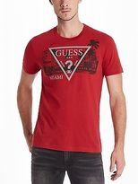 GUESS Men's Miami Crew Tee