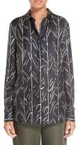 Proenza Schouler Women's Print Silk Shirt