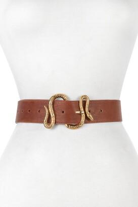 Raina Belts Majove Snake Buckle Belt