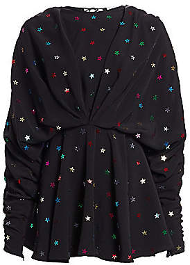ATTICO Women's Cady Envers Satin Mini Dress